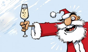 Порция новогодних поздравительных тостов на английском!