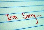 Как правильно извиняться по-английски