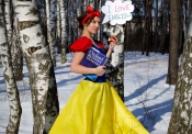 Snow White loves English!