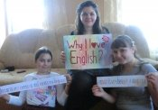 I love English because ...
