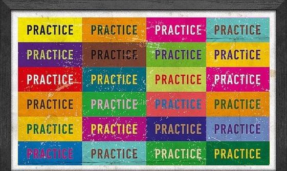 Больше практики - больше пользы!